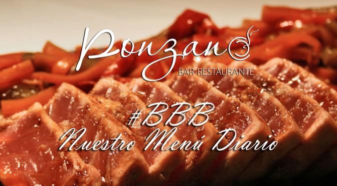 Menú del día en Ponzano Restaurante en Chamberí