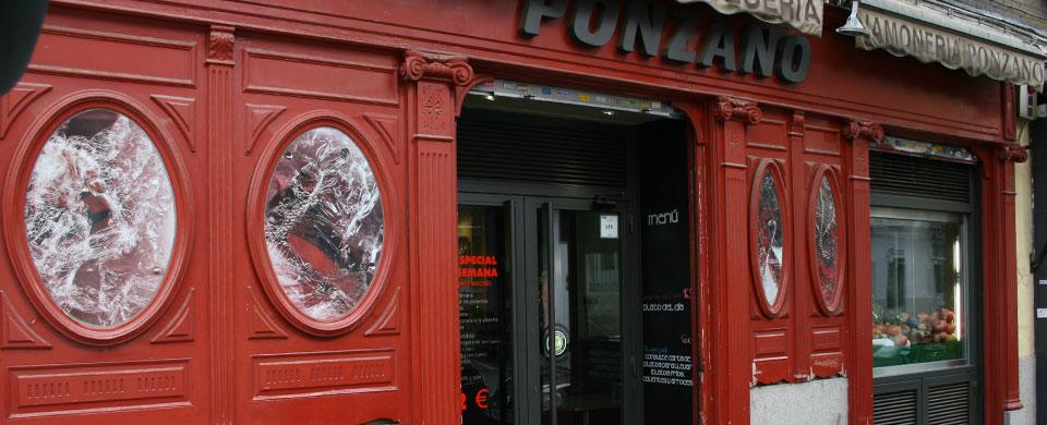Restaurante ponzano madrid for Restaurante lamucca calle prado madrid