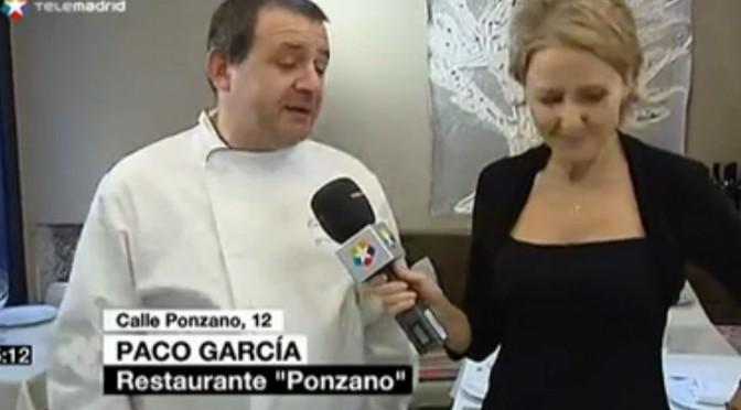 III Jornadas de la Casquería de Restaurante Ponzano en Telemadrid