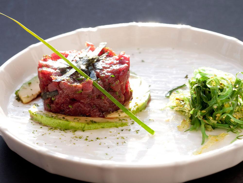 Tartar de atún rojo en Restaurante Ponzano