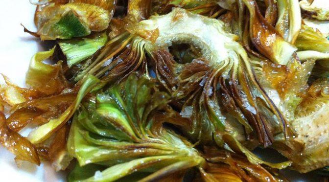 Alcachofas, disfruta de las mejores en Bar Restaurante Ponzano